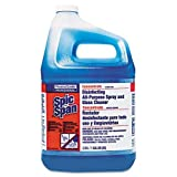 SPICSPAN 32538 Disinfecting All-Purpose Spray and Glass Cleaner, Concentrated, 1gal, 2/Carton