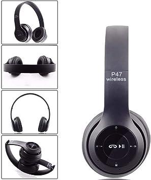 Auriculares inalámbricos Bluetooth P47 música Auricular para ...