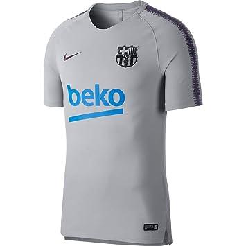 c0e7325e64bb6 Nike Men s Fc Barcelona Breathe Squad T-Shirt  Amazon.co.uk  Sports ...