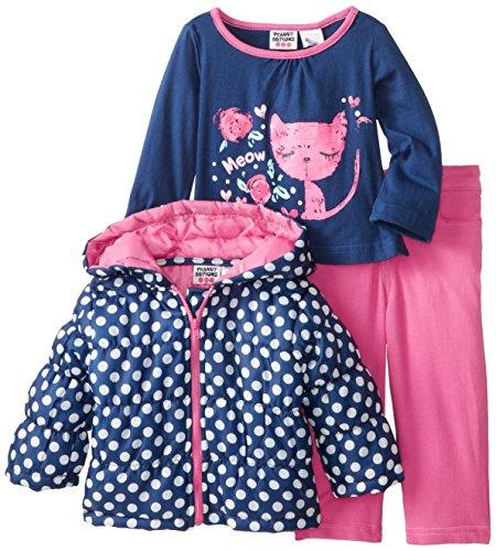Peanut Buttons Baby-Girls Infant Jacket Set