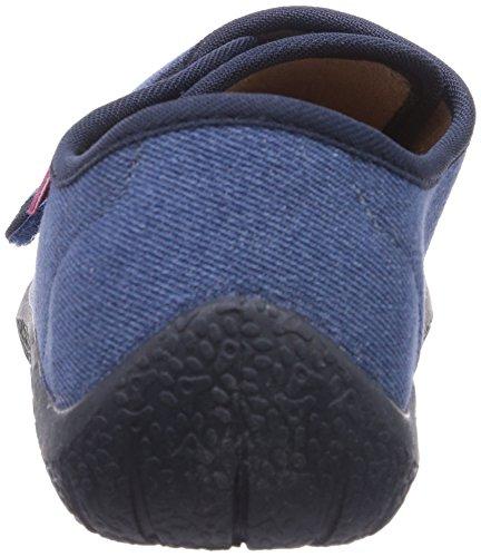 Beck - Zapatillas de casa de lino para niño Azul