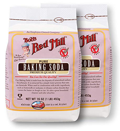 One 16 oz Bob's Red Mill Baking Soda (Pack of 2) ()