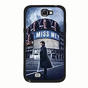 Stylish Image Sherlock Phone Case Cover For Samsung Galaxy Note 2 n7100 Sherlock Design