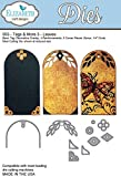 Elizabeth Craft Designs Steel Die - Tags & More 3 -Leaves - 953 by Elizabeth Craft Designs