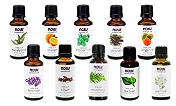 Amazon.com : NOW Foods Essential Oils 10-Oil Variety Pack Sampler ...