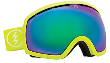 electronic ski goggles  Amazon.com : Electric EG2 Snow Goggle, Toxic Snot, Grey/Green ...