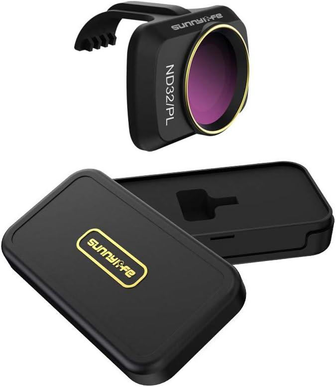 Vkarh Gimbal Lens Filter for DJI Mavic Mini Drone, MCUV CPL ND/PL 4/8/16/32 Professional Optical Glass Lens (ND32/PL)