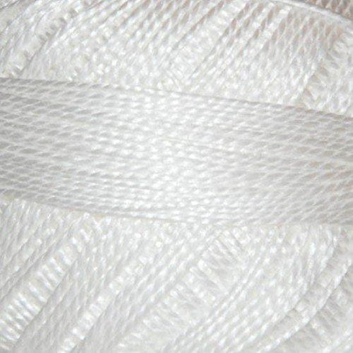 Sullivans Pearl Cotton Balls, Size 8/10g, Snow White