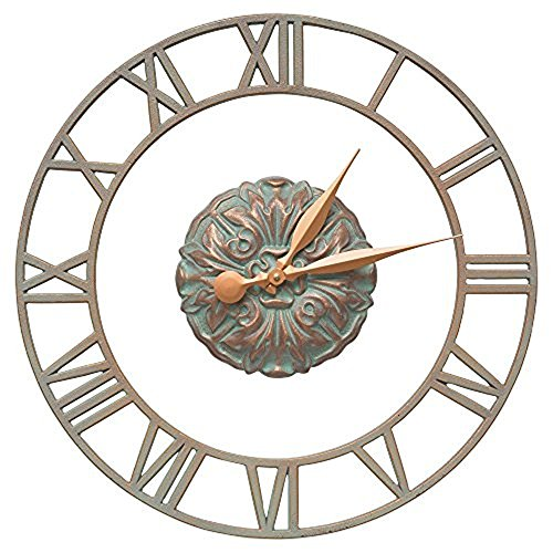 Cambridge Floating Ring 21-in Indoor Outdoor Wall Clock - 01309 by Whitehall