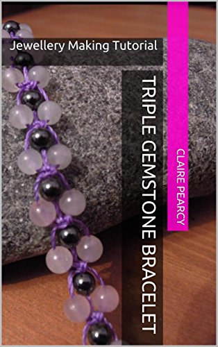 Triple Gemstone Bracelet: Jewellery Making Tutorial (Paracord Triple)