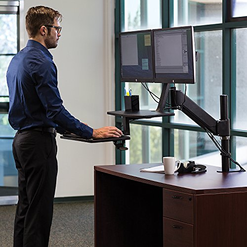 Mount It Sit Stand Desk Standing Desk Height Adjustable