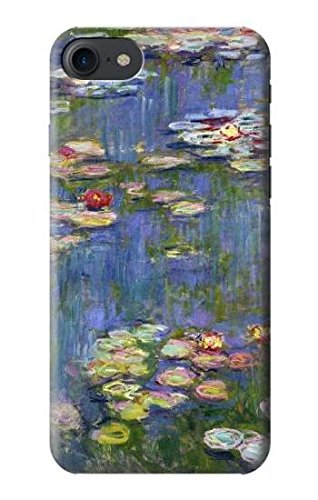 buy popular edbe6 f7221 Amazon.com: R0997 Claude Monet Water Lilies Case Cover For IPHONE 8 ...