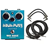 Way Huge Aqua Puss Analog Delay Pedal Reissue Analog Delay Pedal Bundle with...