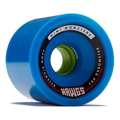 Hawgs Mini Monsters Longboard Wheels - 70mm - 78a - Blue