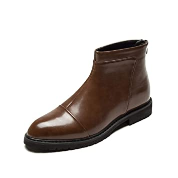Xiazhi-shoes , Botas de Negocios para Hombres, Moda Casual Clásico Estilo Británico High