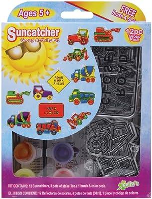 Suncatcher Group Activity Kit, Construction 12/Pkg
