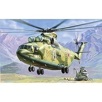 Mil Mi-26 Soviet Helicopter Zvezda 1:72 Kit Z7270