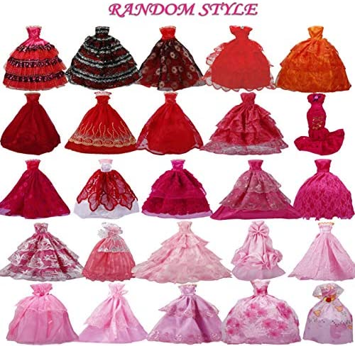 Beautiful Handmade Fashion Clothes Dress For  Doll Cute Lovely Decor JB