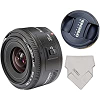 Yongnuo YN35mm F2 35mm Wide-angle Large Aperture Fixed Auto Focus Lens +LYNCA Waterproof Lens Protect Bag For canon EF Mount EOS Cameras