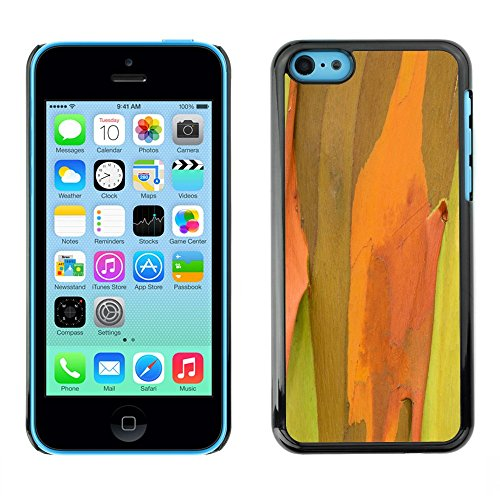 Soft Silicone Rubber Case Hard Cover Protective Accessory Compatible with Apple iPhone 5C - Plant Nature Forrest Flower 50
