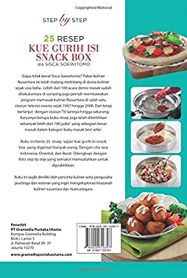Step By Step 25 Resep Kue Gurih Isi Snack Box Ala Sisca Soewitomo Indonesian Edition Soewitomo Sisca Amazon Sg Books