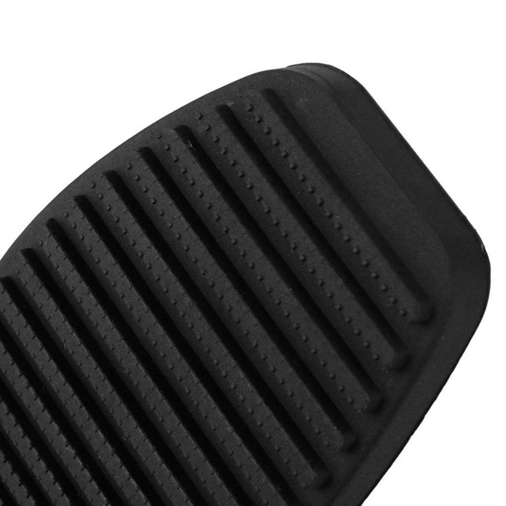 Provide The Best 1 par de Embrague del Freno de Pedal Cubierta de Goma Negro Antideslizante Almohadilla de Repuesto para Fiat Doblo//Albea//Punto//Palio//Fiorino