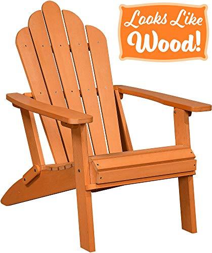Darice Small Adirondack Wood Chair Vinyl Rocker Glider