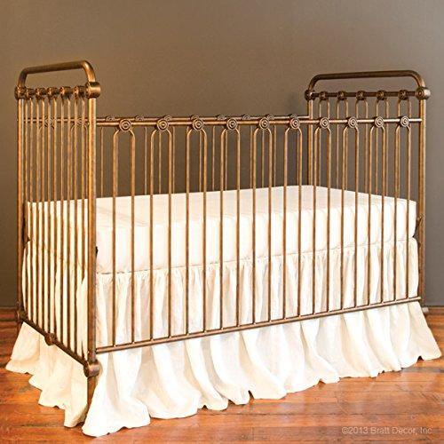 Bratt Decor joy baby crib vintage gold For Sale