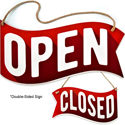 """Open Closed Sign for Business Door 