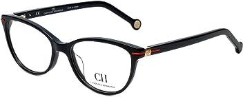 Carolina Herrera Designer Reading Glasses VHE660K-0700 in Shiny Black 52mm