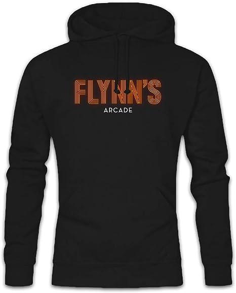 FLYNN`S ARCADE HOODIE Tron Encom Games City Flynn International Computer