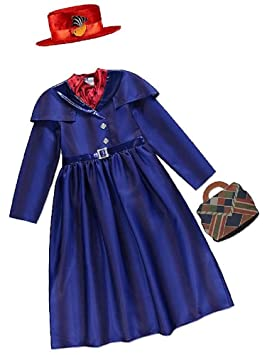 FREE POST Mens Chimney Sweep Ladies Mary Nanny Poppins Fancy Dress Costume FAST