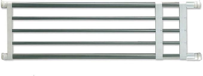 BAOYOUNI Extensible Armario Rack de Almacenamiento de estantería Ajustable Separador Armario Armario Divisor Organizador de DIY Barra para Cocina baño ...