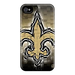New Tpu Hard Case Premium Iphone 4/4s Skin Case Cover(new Orleans Saints)