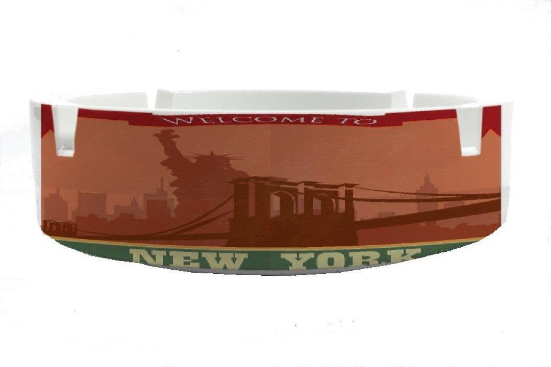 Cenicero Aventurero Nueva York impreso