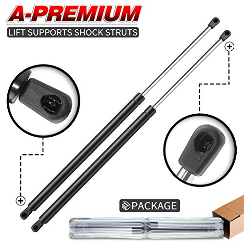 (A-Premium Tailgate Rear Hatch Lift Supports Shock Struts for Chevrolet Suburban Tahoe Yukon Escalade 1995-2004 2-PC Set)