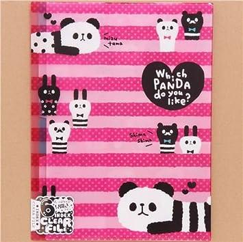 Carpeta archivador rosa A4 A3 plástico 6 apartados lindo ...