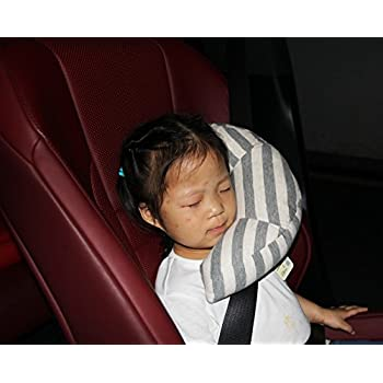fangfei seatbelt headrest pillow cover shoulder pad comfy support car pillow for kids style1
