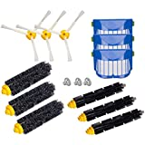 For iRobot Roomba 650, 620,655, 770,780,790 Robotic Vacuum Cleaner Replenishment Parts, I-clean 12 pcs Replacement Brush Accessories (600&700 Series)