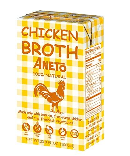 Aneto 100% Natural Chicken Broth