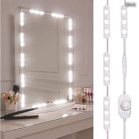 Luces Para Espejos De Bano.Kit De Luces Para Espejo Gloriz Vanity Mirror Lights Kit Juego De