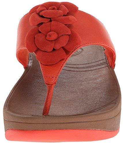 Fitflop Bloom Toe-Post - Sandalias De Vestir para mujer Flame