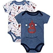 The Beatles Baby Boys' Value Pack Bodysuits, Blue, 3-6 Months