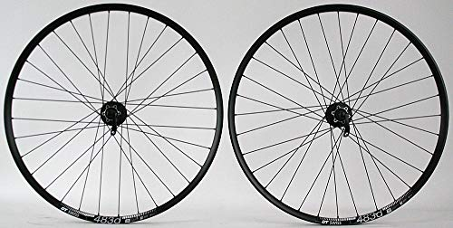(DT Swiss 483D 29er Rims Shimano Deore 6 Bolt disc Hubs Mountain Bike Wheelset QR)