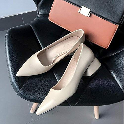 39 Con Rojo Juegos Afiladas Zapatos Pies Para Bajo Corte Zapatillas Mujeres 37 color Hhgold Tamaño Tacón Profundas De Mujer Poco Ocio Trabajo R1npqPWP