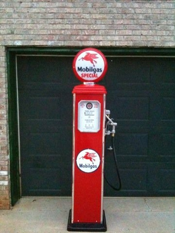 Vintage Style Gas Pumps - Custom Built (Old Gas Pump compare prices)