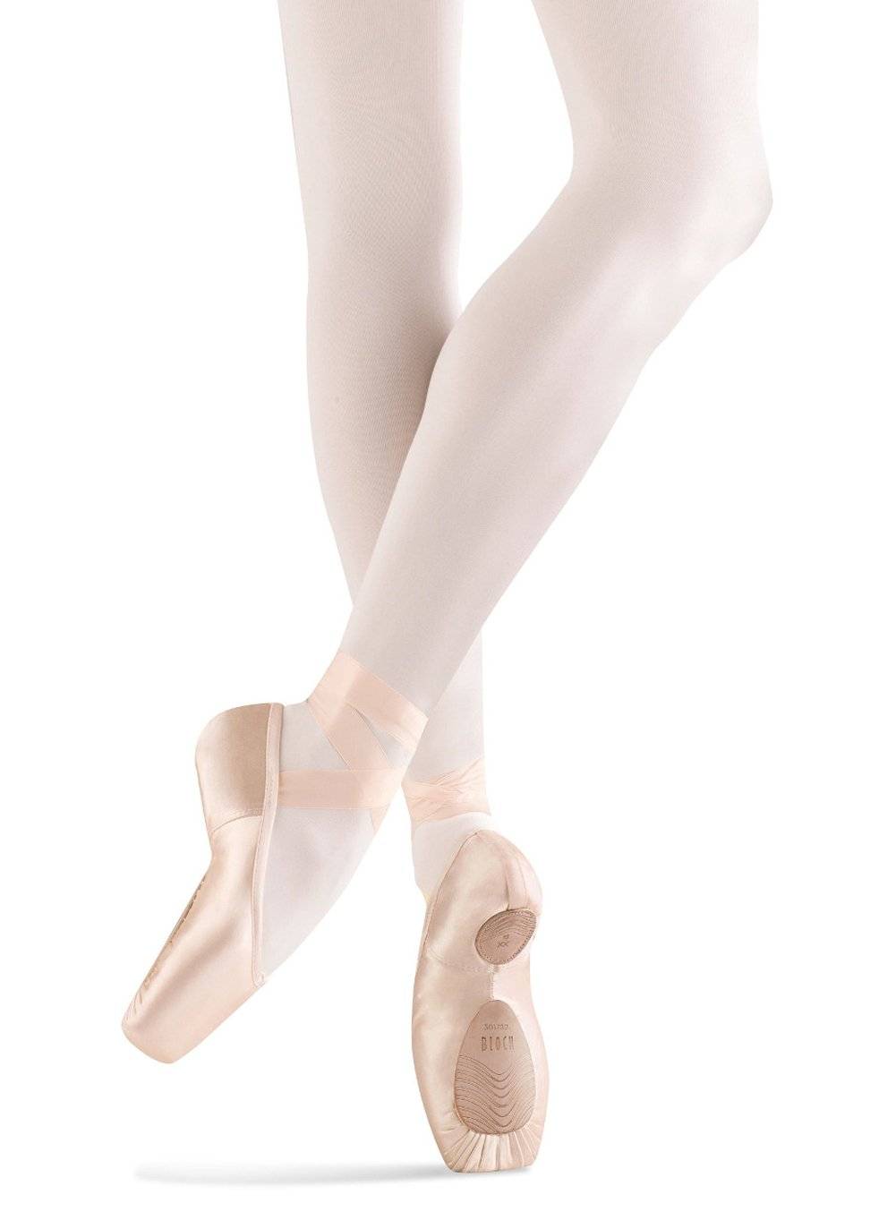 Bloch Women's Dramatica II Ballet Pointe Shoes, Pink Cotton, 6 3X