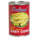 Roland Baby Corn, Fancy Small Whole, 15-Ounce Cans (Pack of 24)