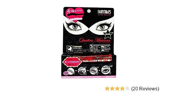 8f0d934ae18 Amazon.com : FAIRYDROPS Quattro Mascara : Beauty