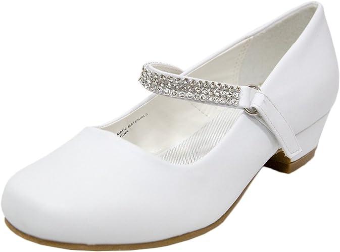 Ychen Little Girls School Shoes Wedding
